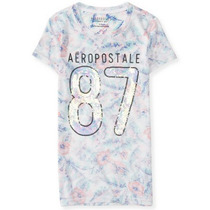 Blusa Camisa Polo Feminina Aeropostale Original Varias Cores