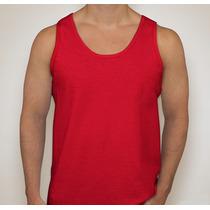 Camiseta Regata Lisa Masculina Cores - Malha Pv