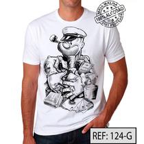 Poker Camiseta Ref:124 Meia Malha Pentiada 100% Algodão