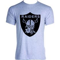 Camisa Camiseta Blusa Raiders Los Angeles New York Algodão