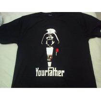 Camiseta Darth Vader Your Father Dark Side Star Wars