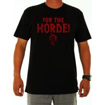 Camisa World Of Warcraft Horde!