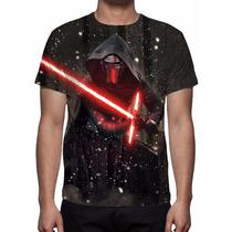 Camisa, Camiseta Filme Star Wars O Despertar Da Força - 2015