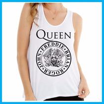 Regata Feminina Queen, Rock, Banda, Música, Freddie Mercury