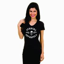 Camiseta Banda Baby Look Rock Acdc Nirvana Avenged Matanza
