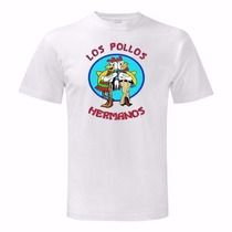 Camiseta Los Pollos Hermanos - Camisa Seriado Breaking Bad