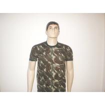 Camiseta Camuflada Padrão Exército Brasileiro - Dry Fit