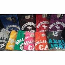 Camisas Masculinas Holliste,aeropostale,abercrombie Kit C/ 5