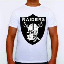 Camisa Camiseta Blusa Oakland Raiders Los Angeles New York