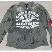 Camiseta Christian Audigier - Produto Importado