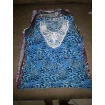 Blusa Extra G Feminina Liganete Otima Costura