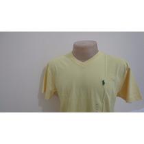 Camiseta Polo By Ralph Lauren Amarela Tamanho P E G Gola V