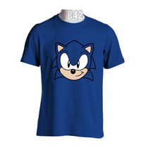 Camisa Sonic Sega Camisetas Game Jogos Satiras Geek Games
