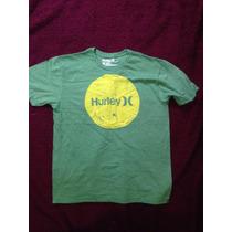 Camiseta Infantil Masculina Hurley - Tamanho G