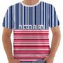 Camisa Camiseta Regata Usa Estados Unidos Eua 25