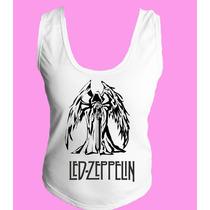 Camiseta Regata Nadador Lez Zepellin Classic Hard Rock 2