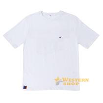 Camiseta Masculina Goods For Cowboys Branca 100% Algodão - S