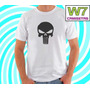 Camiseta Justiceiro Punisher Heróis Marvel