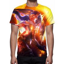 Camisa, Camiseta Game League Of Legends - Vayne Arco Celeste