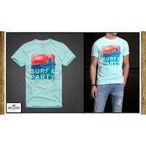 2 Camisetas Hollister-abercrombie-osklen-reserva Originais