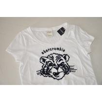 Camiseta Infantil Abercrombie Kids (menina) - 100% Original