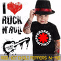 Camisetas Red Hot Chili Peppers Infantil Preta Rock Roll