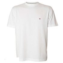 Camiseta Masculina Tommy Hilfiger Basic White