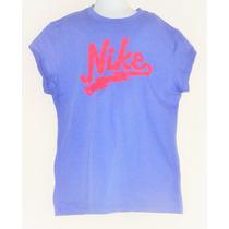 Nike Camiseta Feminina 12-13 Anos Tam G Nova Original Eua