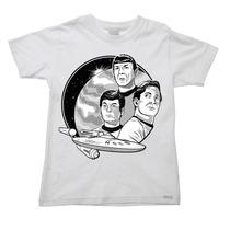 Camiseta Infantil Star Trek Jornada Nas Estrelas Y - 2 Ao 16