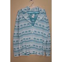 Casaco Casaquinho De Tricot - Lã - Malha - Estampado
