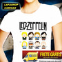 Camiseta Led Zeppelin Camisa Baby Look South Park Feminina