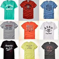 1 Camiseta Hollister Abercrombie Aeropostale Pronta Entrega