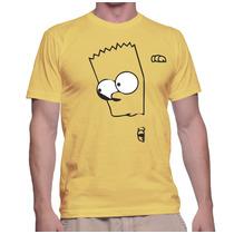 Camiseta Bart Simpsons Camisas The Simpsons