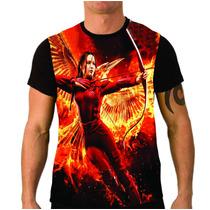 Camiseta Jogos Vorazes A Esperança Parte 2 , Series, Filmes