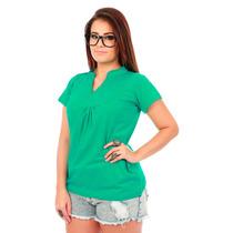 Bata Blusa Camisa Bordado Com Guipir - Pronta Entrega