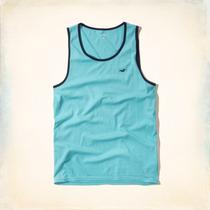 Camiseta Regata Hollister Must-have Tank À Pronta Entrega