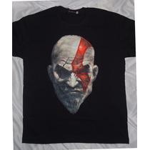 Camisa Camiseta Blusa Customizada_god Of War Deus Da Guerra