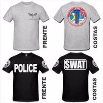 Camiseta Militares Swat Cccp Fbi Nypd Fdny Csi Nasa Bope Mma