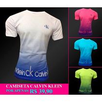Camisas Ck Camisetas Calvin Klein Estilosa Degradê