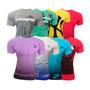 Kit 5 Camisetas Hollister Abercrombie Tommy Calvin Atacado