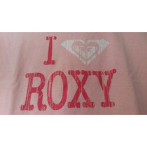Camiseta/blusa Baby Look Roxy Preto Ou Rosa