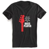 Camiseta Personalizada Música - Contrabaixo Bass