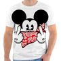 Camiseta Camisa Mickey Disney Masculina Feminina 01