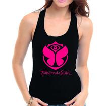 Regata Feminina Tomorrowland + Adesivo - Visco Pura Blusinha