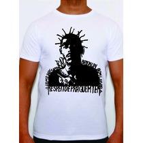 Camisa De Rap Hiphop Sabotage 2pac Big Eminem Racionais Alg