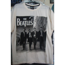Camisa Da Banda De Rock Beatles.