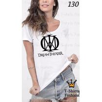 Camiseta T-shirt Theater Fashion Feminino Blusa Baby Look