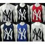 Camiseta Regata Básica New York Yankees Atacado 06 Peças