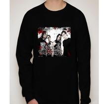 Camiseta Manga Longa Bullet For My Valentine -banda De Rock