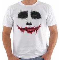 Camiseta Joker Coringa Curinga Batman Heath Ledger 2